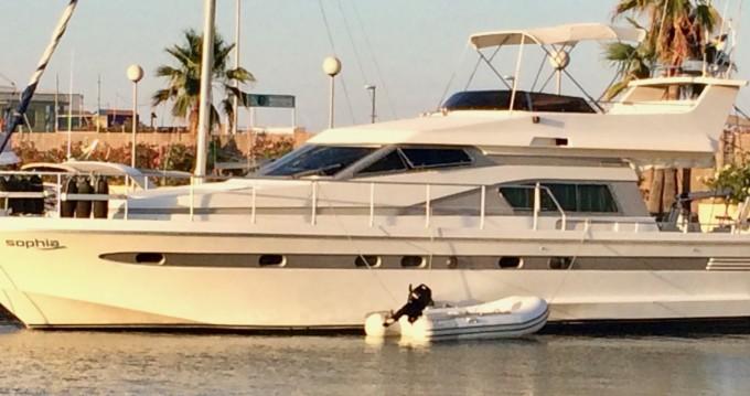 Huur Motorboot met of zonder schipper Astondoa in Dénia