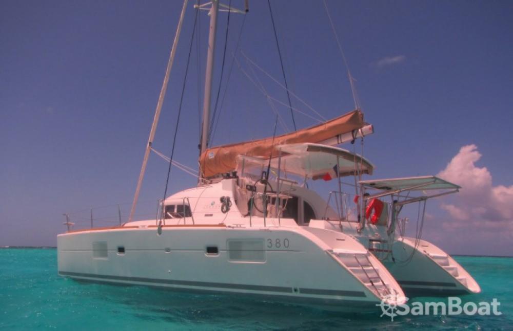 Jachthuur in Martinique - Lagoon Lagoon 380 via SamBoat