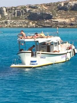 Huur Motorboot met of zonder schipper Gozzo In Legno 11m in Favignana