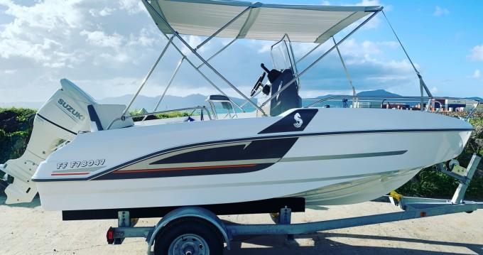 Verhuur Motorboot in Fort-de-France - Bénéteau Flyer 5.5 SPACEdeck