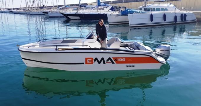 Verhuur Motorboot BMA met vaarbewijs