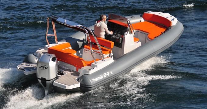 Huur een Marlin Boat Marlin  24 X in Krk