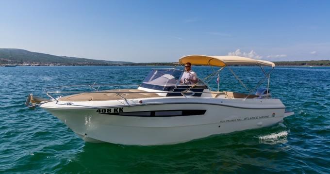 Huur Motorboot met of zonder schipper Atlantic in Krk