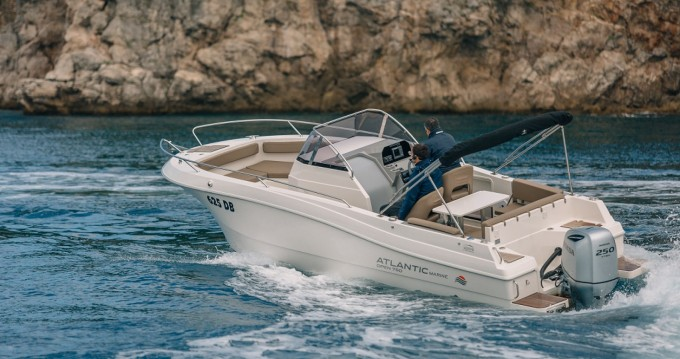 Verhuur Motorboot Atlantic met vaarbewijs