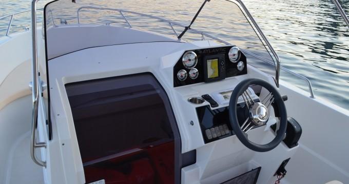 Verhuur Motorboot in Krk - Atlantic open 670