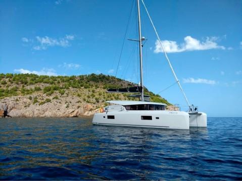 Huur Catamaran met of zonder schipper Lagoon in Sant Antoni de Portmany