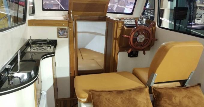 Verhuur Motorboot Kutlay Marine met vaarbewijs
