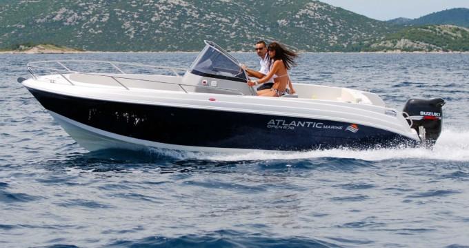 Huur een Atlantic marine open 670 in Makarska