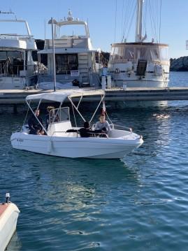 Verhuur Motorboot Saver met vaarbewijs