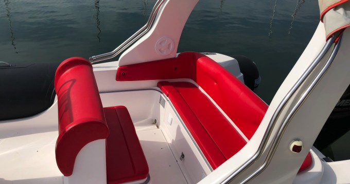 Verhuur Rubberboot in Bormes-les-Mimosas - Italboats STINGHER 22
