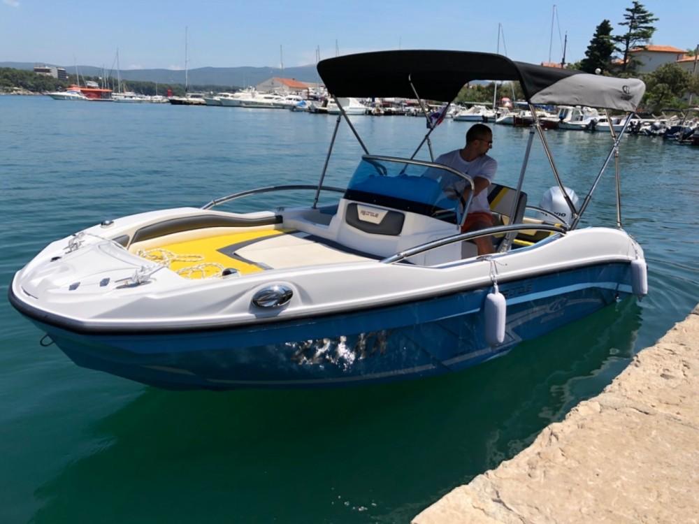 Verhuur Motorboot in Krk - Rancraft RS5