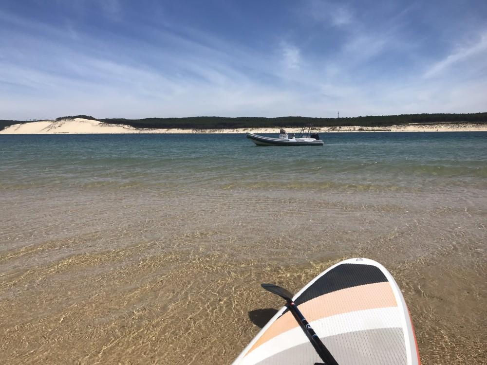 Huur Rubberboot met of zonder schipper Nautica Led in Lège-Cap-Ferret