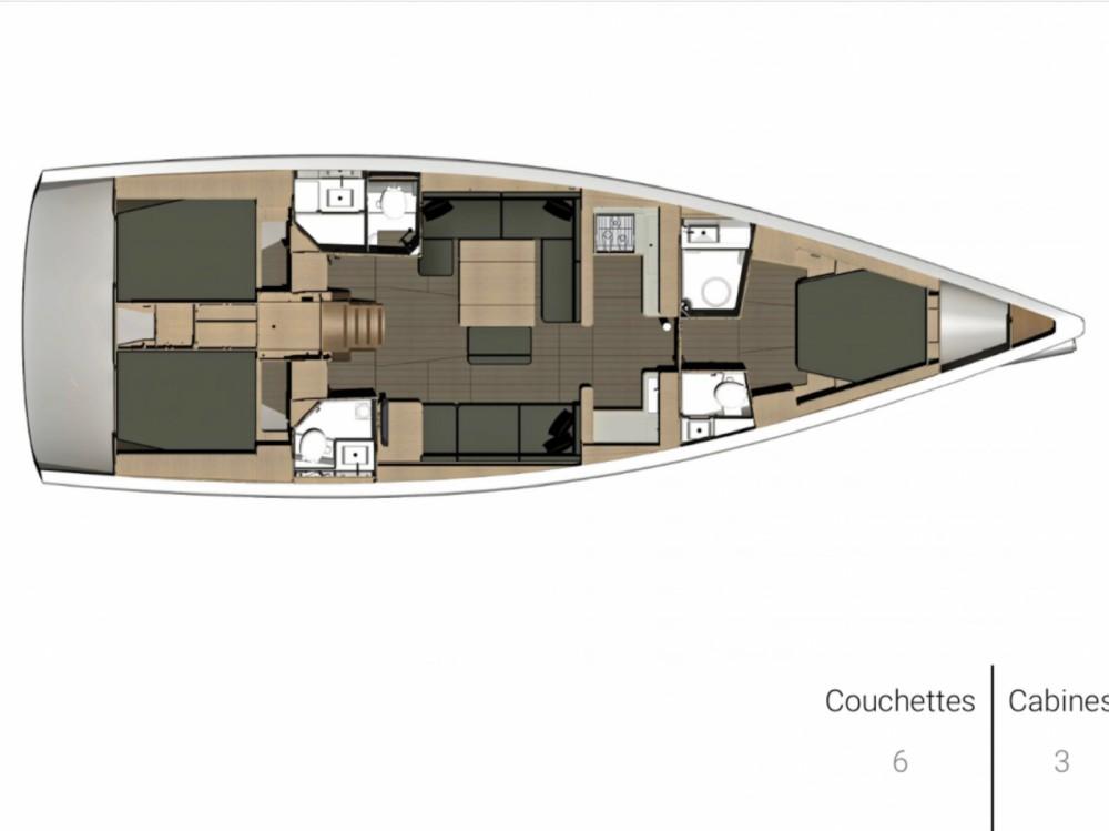 Bootverhuur Canet-en-Roussillon goedkoop Dufour 500 Grand Large