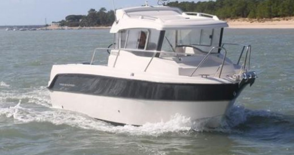 Verhuur Motorboot Parker met vaarbewijs