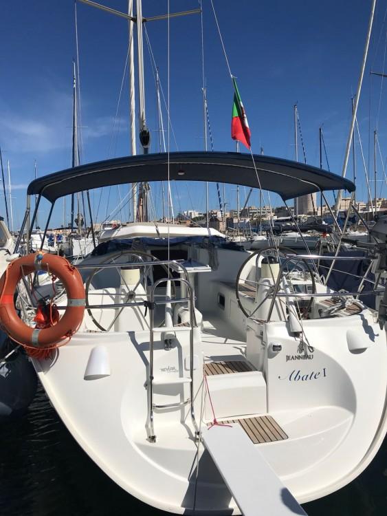 Jeanneau Sun Odyssey 40.3 te huur van particulier of professional in Marsala