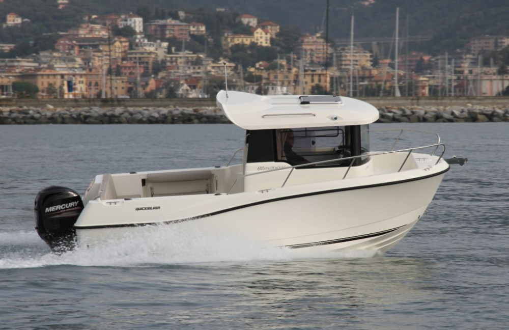Jachthuur in Clohars-Carnoët - Quicksilver Activ 605 Pilothouse via SamBoat