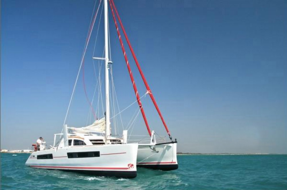 Huur Catamaran met of zonder schipper Catana in Martinique
