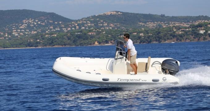 Verhuur Rubberboot in Ibiza Island - Capelli Tempest 470