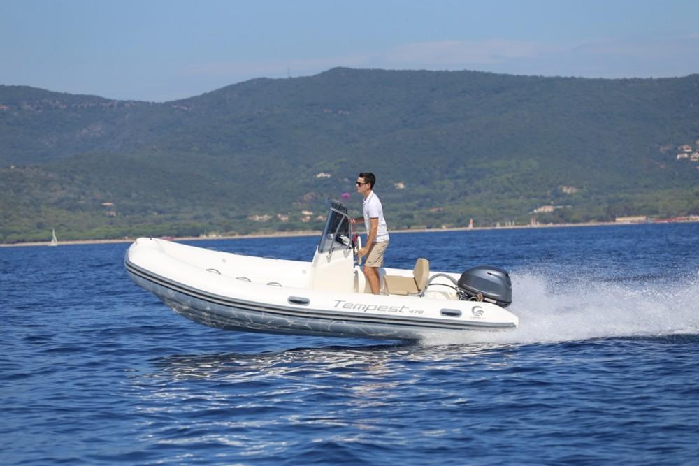 Verhuur Rubberboot in Eivissa - Capelli Tempest 470