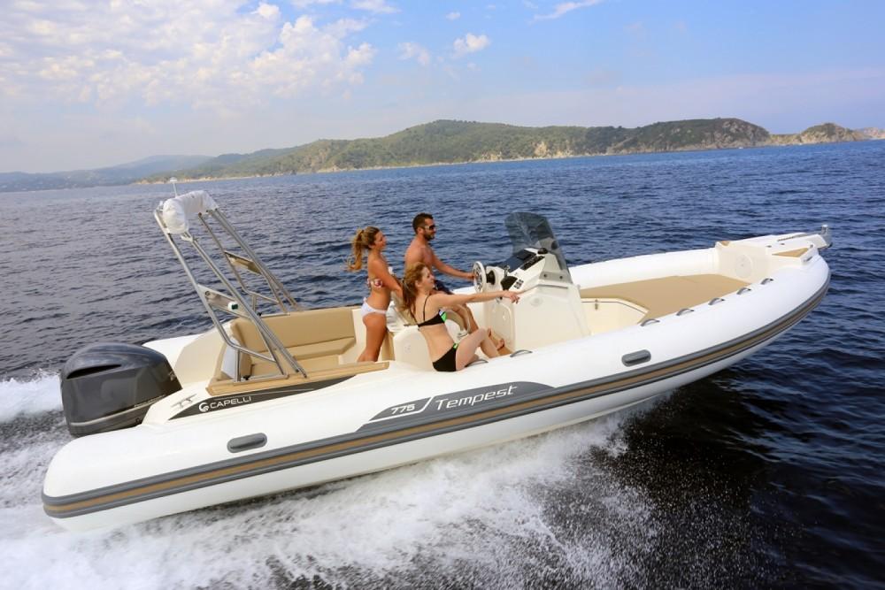 Bootverhuur Eivissa goedkoop Tempest 775