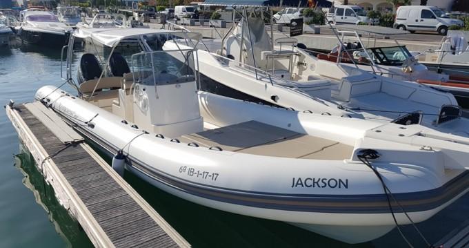 Huur Rubberboot met of zonder schipper Capelli in Ibiza Island