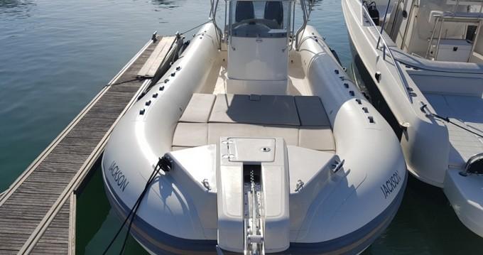 Verhuur Rubberboot in Ibiza Island - Capelli Tempest 900 Sun