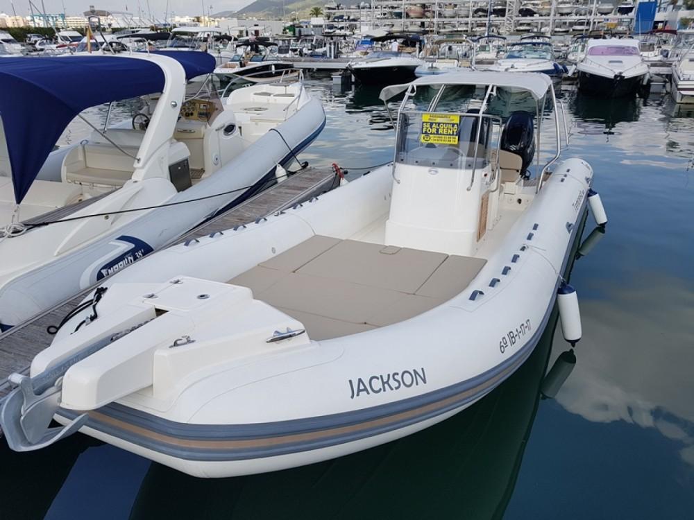 Huur Rubberboot met of zonder schipper Capelli in Eivissa