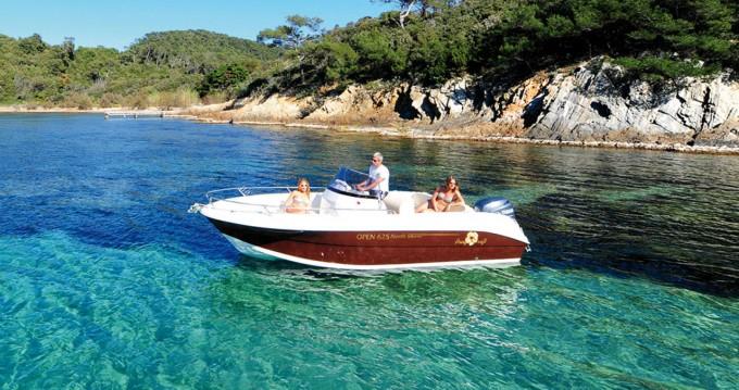 Verhuur Motorboot in Ibiza Island - Pacific Craft Pacific Craft 625 Open