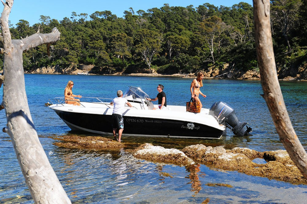 Verhuur Motorboot in Sant Antoni de Portmany - Pacific Craft Pacific Craft 670 Open