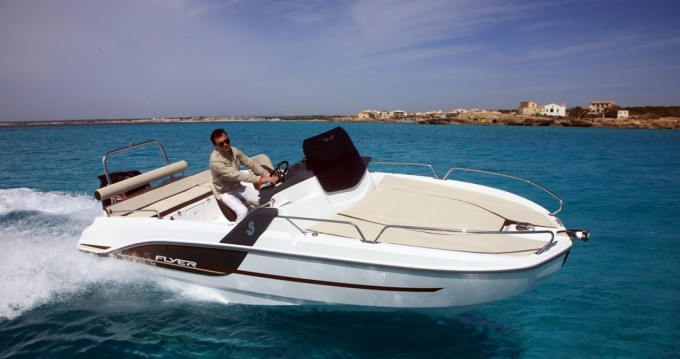 Bootverhuur Bénéteau Flyer 6.6 SUNdeck in Ibiza Island via SamBoat