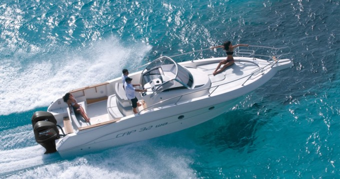 Verhuur Motorboot Capelli met vaarbewijs