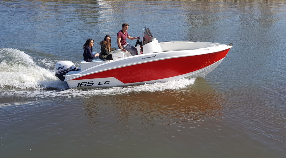Bootverhuur Santa Pola goedkoop Happy Fishing Open