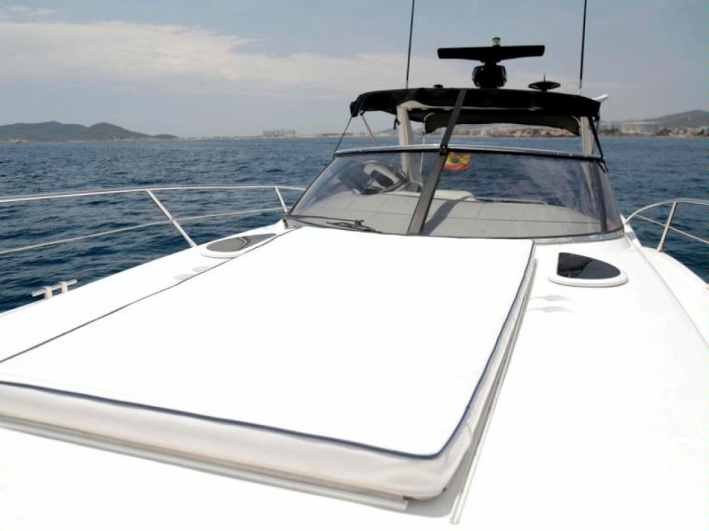 Verhuur Motorboot in Eivissa - Sunseeker Superhawk 50