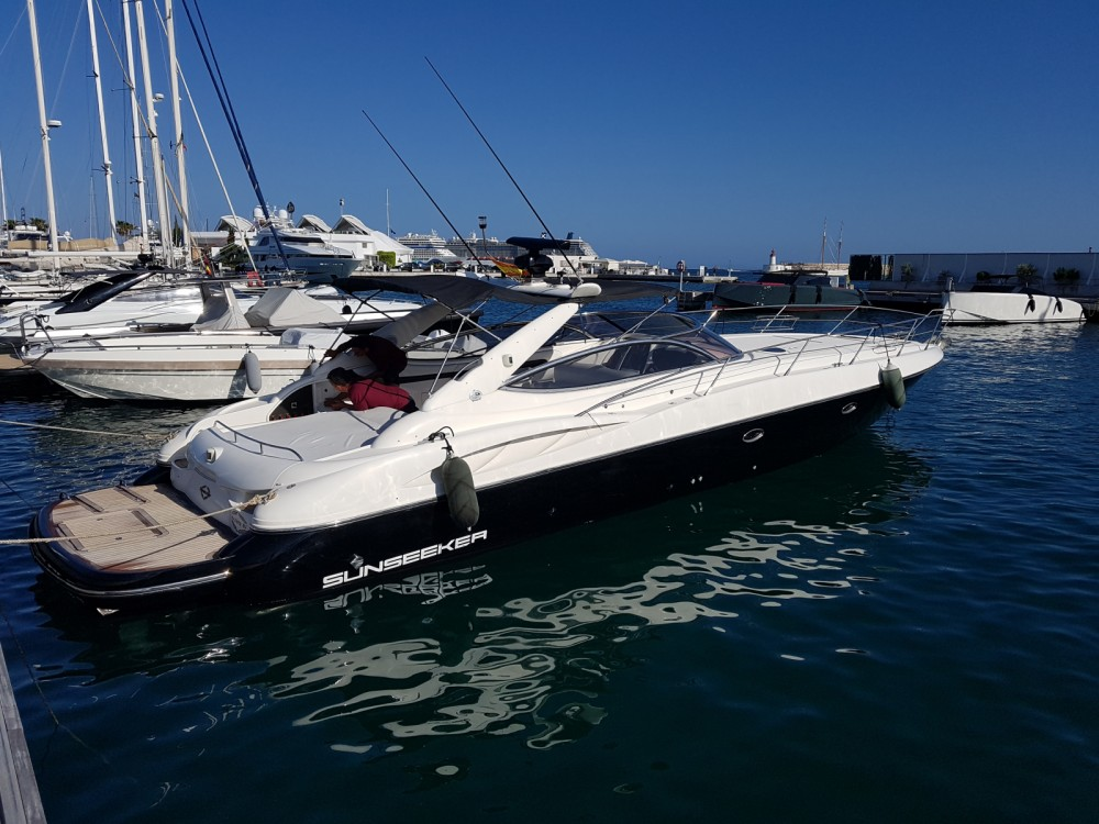 Sunseeker Superhawk 50 te huur van particulier of professional in Eivissa