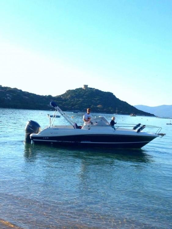 Verhuur Motorboot in Belvédère-Campomoro - Jeanneau Cap Camarat 715 WA