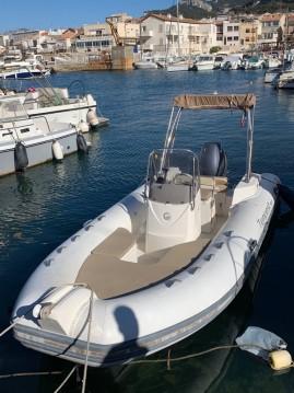 Verhuur Rubberboot in Marseille - Capelli Tempest 600