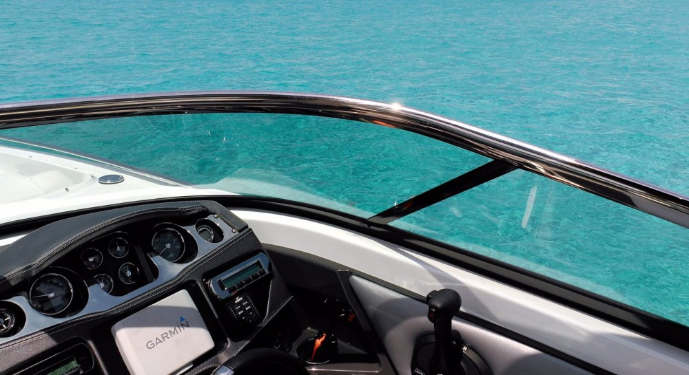 Verhuur Motorboot in Marina Ibiza - Monterey 298 SS