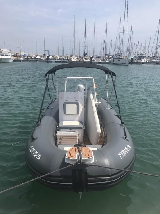 Verhuur Rubberboot Highfield met vaarbewijs