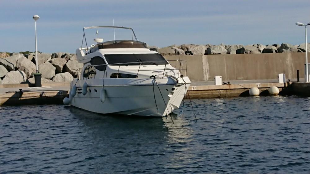 Huur Motorboot met of zonder schipper Azimut in Cap-d'Ail