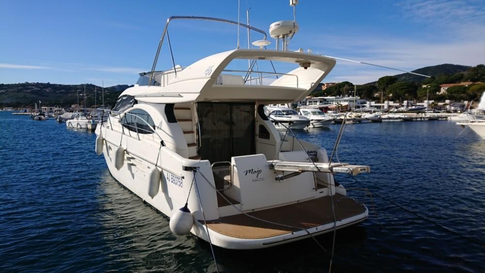 Verhuur Motorboot in Cap-d'Ail - Azimut Azimut 46 Fly