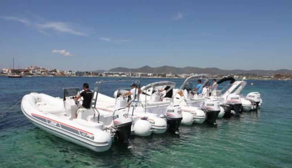 Huur Rubberboot met of zonder schipper Selva in La Savina
