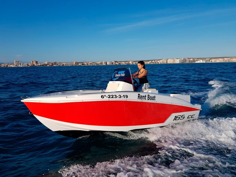 Motorboot te huur in Santa Pola voor de beste prijs