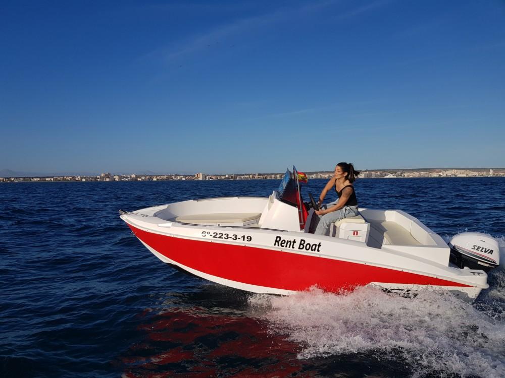 Jachthuur in Santa Pola - Marinello Happy Fishing Open via SamBoat