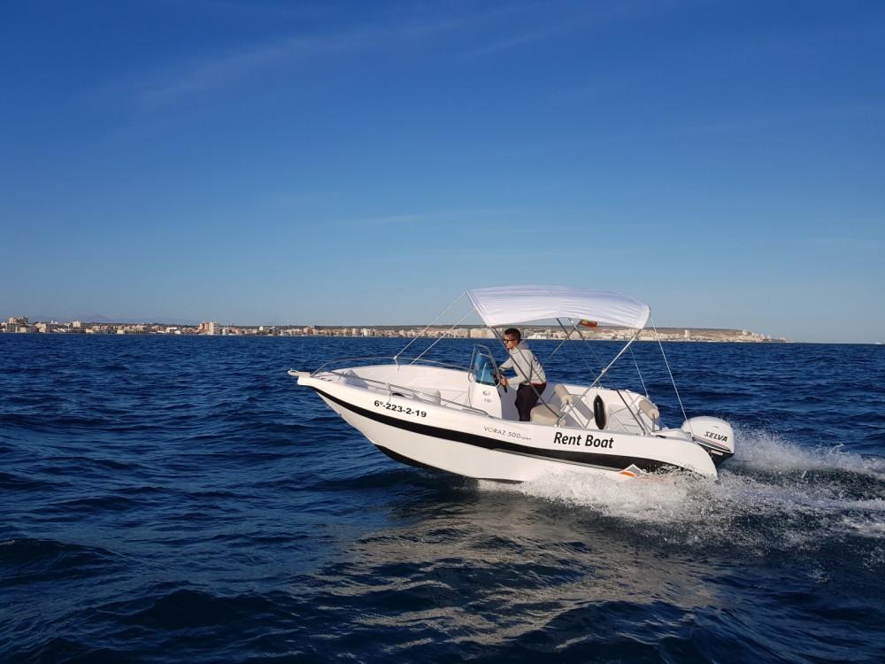 Huur een Marinello Happy Fishing Open in Santa Pola