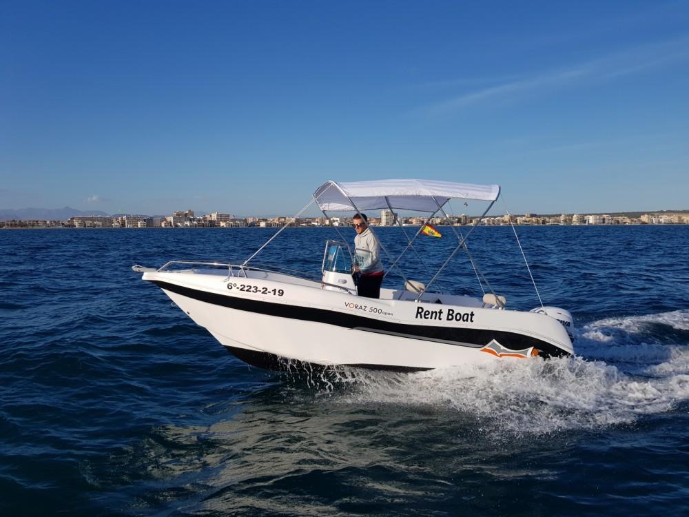 Huur Motorboot met of zonder schipper Marinello in Santa Pola