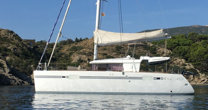 Bootverhuur La Capte goedkoop Lagoon 450 F