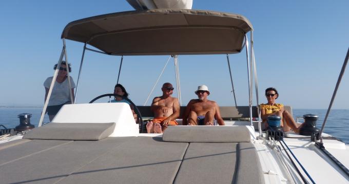 Verhuur Catamaran in La Capte - Lagoon Lagoon 450 F