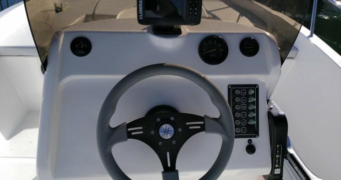 Verhuur Motorboot in Port Ginesta - Astec AXTILUX 600 OPEN