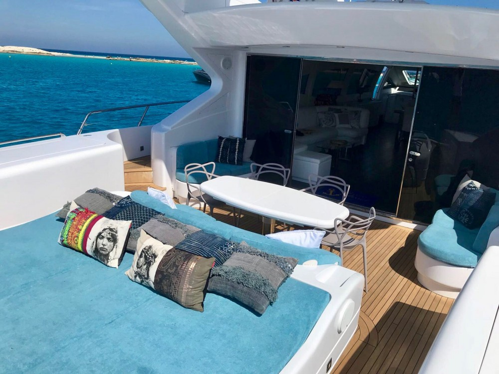 Verhuur Jacht in Eivissa - Mangusta MANGUSTA 108