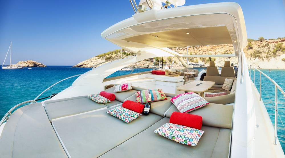 Bootverhuur Princess Princess V53 in Eivissa via SamBoat